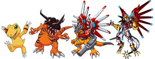 agumon evolution line