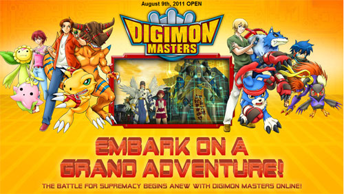 digimon masters online english version