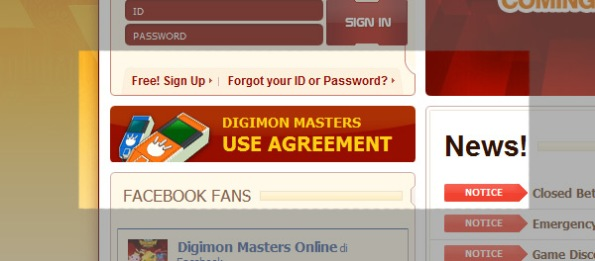 digimon masters agreement