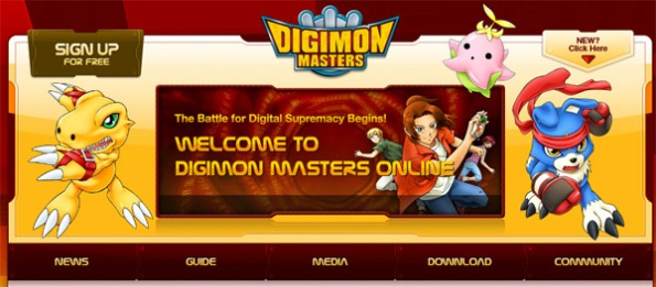 digimon masters online closed beta opening august 9 2011